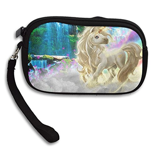 Deluxe Bag Printing Purse Small Portable Unicorn Receiving Angel pwq07n