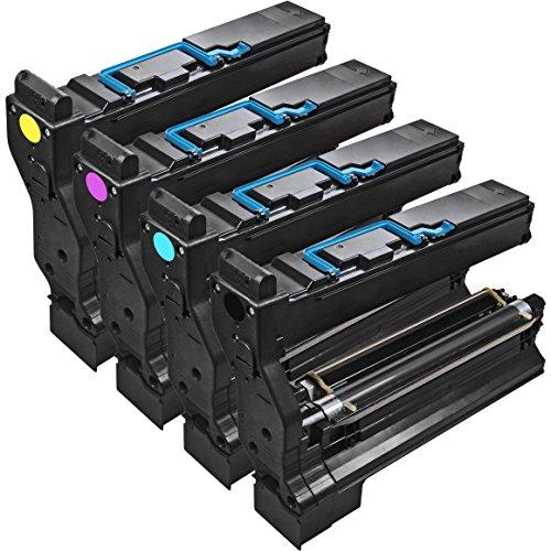 001 Black Toner Cartridge (Compatible non-OEM replacement for Konica Minolta 1710580-001 Black Toner Cartridge for MagiColor 5400 / 5430 / 5430 DL / 5440 DL / 5450 Color Laser Printers)