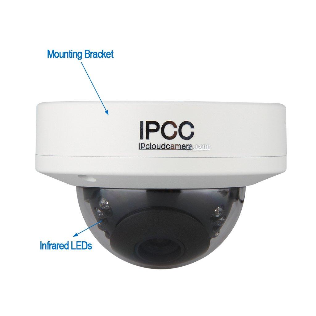IP Camara de Vigilancia Seguridad para Hogar Inalambrico (720P, WiFi, Visión Nocturna, H.264 HD 1.0MP, CCTV IP Wlan, P2P Remoto, Onvif) , Redonda: ...