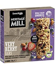 Freedom Foods Heritage Mill Very Berry Bars, (Pack of 6)