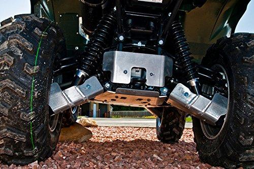 5-Piece Aluminum A-Arm & CV Boot Guard Set, Yamaha Grizzly 700 Aluminum Cv Guards