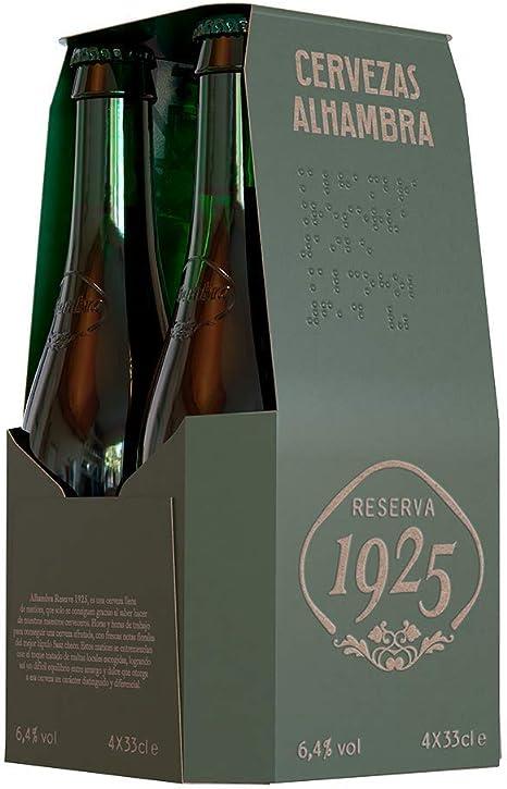 Alhambra - Reserva 1925 Cerveza Dorada Lager, 5.4% Volumen de ...