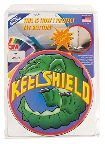 (KeelShield KS-7WHT Keel Protector (7-Feet, White))