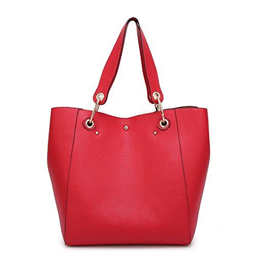 Mefly Bolsa Bolso Shopping Bag Bolso Negro gules