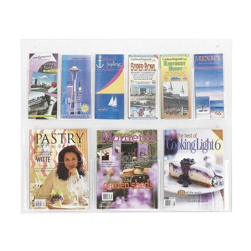 SAF5666CL - Safco Clear2c Magazine/Pamphlet -