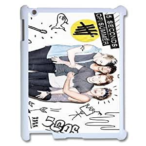 [QiongMai Phone Case] For Ipad 2/3/4 Case -5SOS Punk Music Band-Case 20