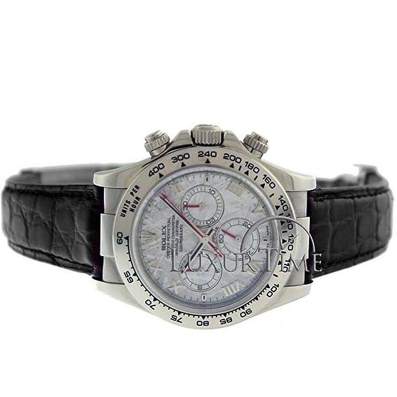 Rolex Daytona 116519 - Reloj automático con cuerda macho (certificado de autenticidad)