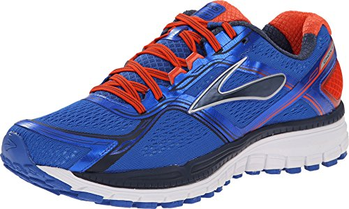 Brooks Men's Ghost 8 Electric Brooks/spicy Orange/dress Blues