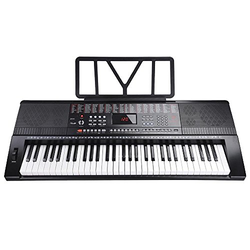 AW 61 Key Full Size Electronic Music Keyboard Electric Piano