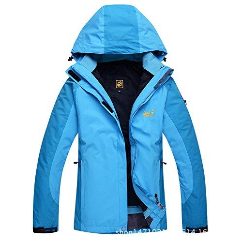xl Giacca Light Esterno Impermeabile Yff Escursionismo Blue Antivento Camping Leit Uomini Traspirante xwOBqpP