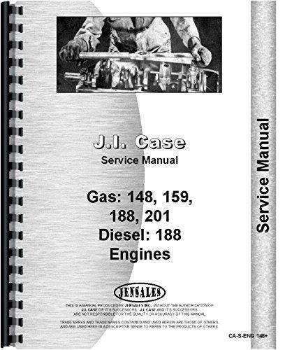Download Case D188 G148 G159 G188 G201 Engine Service Manual (CA-S-ENG148+) pdf