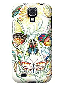 LarryToliver Customizable Series Case for samsung Galaxy s4 - Free Packaging - Beautiful Skull pictures #4