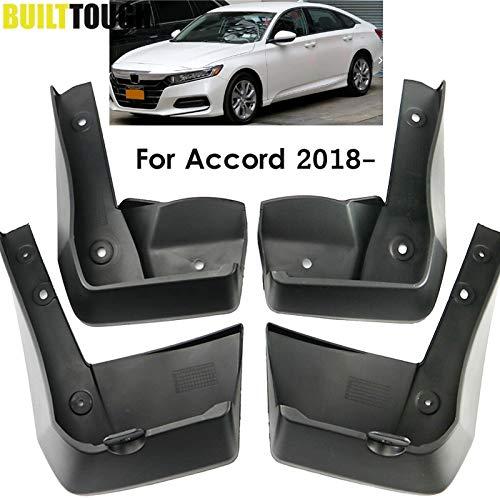 Mudguards 4Pcs Front Rear Car Mud Flaps For Honda Accord 2018 2019 4Dr Sedan Mudflaps Splash Guards Mudguards Accessories