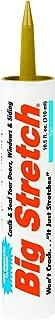 product image for Sashco 10014 100 Percent Acrylic Latex Big Stretch High Performance Caulk, 10.5oz Cartridge, Tan (Case of 12)