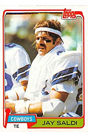 1981 topps football 53 jay saldi dallas for Saldi thun amazon