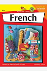 French: Elementary - 100 Reproducible Activities (The 100+ Series) Paperback