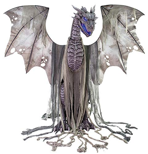 Seasonal Visions Animated Winter Dragon Prop ()