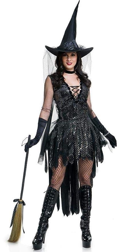 Ambiguity Disfraz de Halloween Mujer Papel del Traje de ...