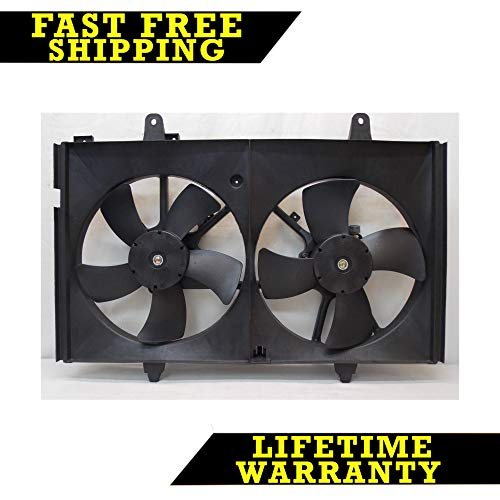 RADIATOR CONDENSER COOLING FAN FOR NISSAN FITS MURANO 3.5 V6 6CYL NI3115124
