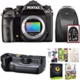 Pentax K-1 DSLR Camera (Body Only) w/Backpack & Battery Grip Bundle