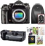 Pentax K-1 DSLR Camera (Body Only) w/ Backpack & Battery Grip Bundle