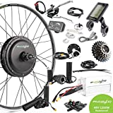 6. EBIKELING 48V 1200W 700C Direct Drive Rear Waterproof Electric Bicycle Conversion Kit (Rear/LCD/Thumb)