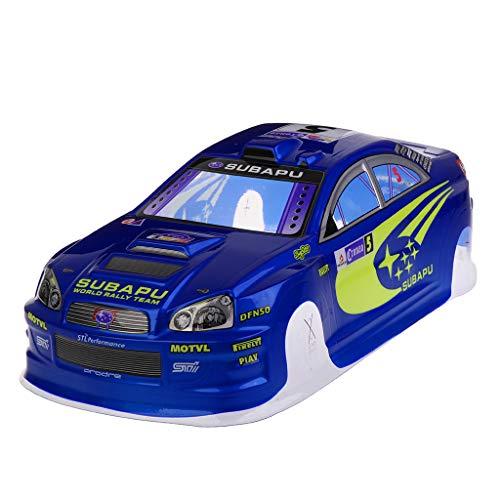 EAPTS 1/10 RC Car 190mm PVC Body Shell for on Road Drift Rally Subaru Spare Parts (Rc Drift Car Body Shell 1 10)