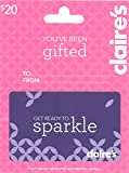 Claires Gift Card $20