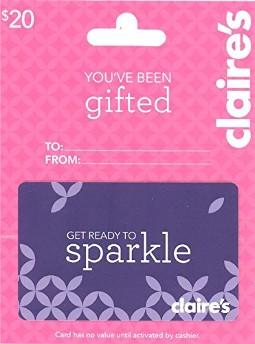Claire's Gift Card $20 ()