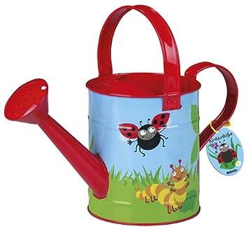Moses 16040 Krabbelkäfer Gießkanne | Gartengerät für Kinder | Fassungsvermögen 2 Liter