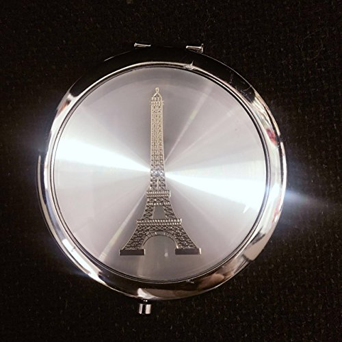 12 X make up Eiffel Tower Mirror Compact Favors Paris Sweet Sixteen Wedding Event party gift/ bridal shower/ office gift