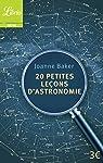 20 petites leçons d'astronomie par Baker