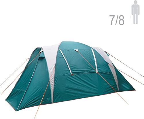 NTK Arizona GT 7 to 8 Person 14 by 8 Foot Sport Camping Tent 100 Waterproof 2500mm Family Tent