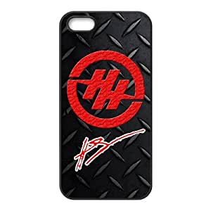 Customize Hunter Hayes logo black (TPU) Case Fits and Protect iphone 5 at luckhappy123 store