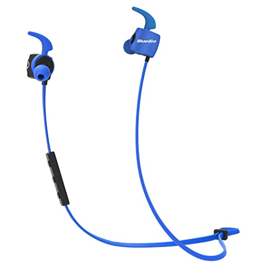 30 opinioni per Bluedio TE (Turbine) Cuffie Bluetooth 4.2, Per Sport Auricolari Wireless,