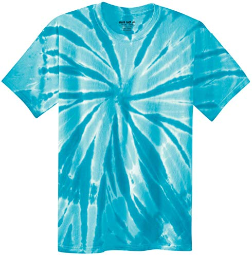 Koloa Surf (tm) Youth Colorful Tie-Dye T-Shirt,S-Turquoise