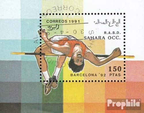 Sahara Issue The Government in Exile Without Validity in International. Postal Number.62 1991 Olympics Summer 1992 (Stamps for Collectors) Olympic Games