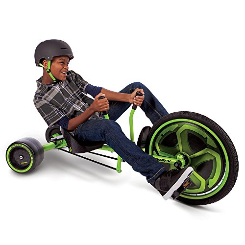Huffy Green Machine 20-inch Trike, 2018 Version, Ages 8 and Older, with 180-Degree Spins and Awesome Drifts by Huffy (Image #2)