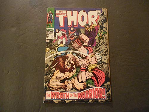 (Thor #152 May 1968 Silver Age Marvel Comics)