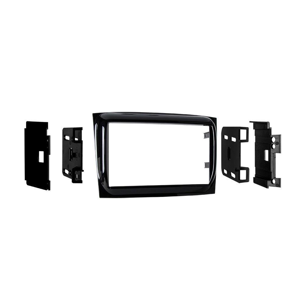 Metra 95-6531HG 2015- Ram Promaster City Vehicles Double-DIN Radio Dash Kit (High Gloss Black)