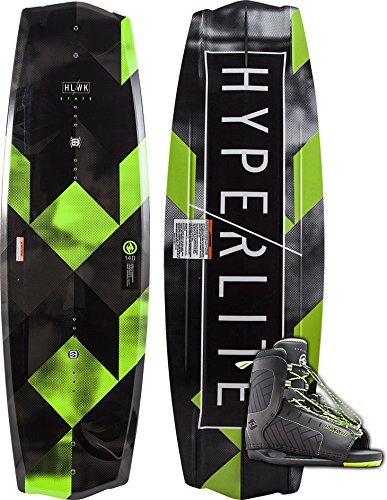 Hyperlite State 2.0 Wakeboard w/Remix Boots (140, 10-14 Boot)