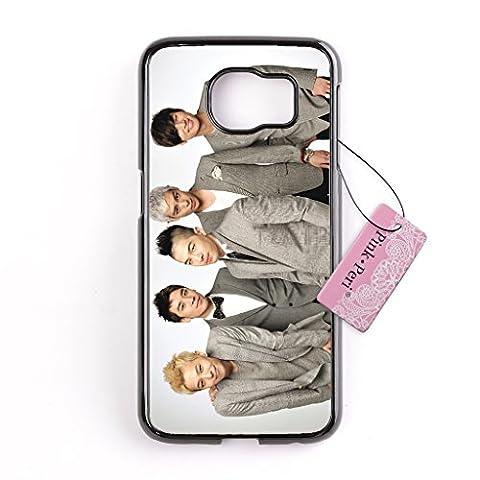 Galaxy S6 Edge case, Pink Peri™ Bigbang K-POP Hard Phone Case For Samsung Galaxy S6 Edge cases (Samsung Galaxy S4 Cases Kpop)