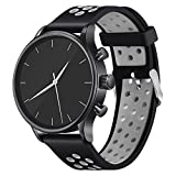 Vetoo Sport Watch Band Quick Release, Soft Silicone Watch Bands, Choose Color and Width 20mm, 22mm,...