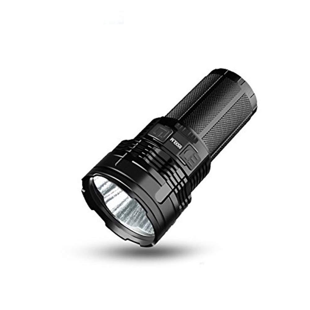 Imalent DT70 LED-Taschenlampe, wiederaufladbar, 4 CREE XHP70 LEDs, 16000 Lumen, 700 m, mit 4 18650 Batterien