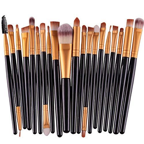 Kaputar New 20Pcs Makeup Brushes Set Foundation Eyeshadow Eyeliner Lip Cosmetic Brushes | Model MKPBRSH - 129 |