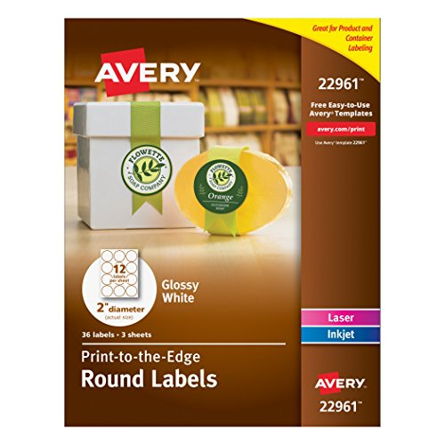 Avery Round Labels, 2