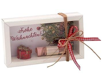 Zauberdeko Geldgeschenk Verpackung Weihnachten Geschenk Rot