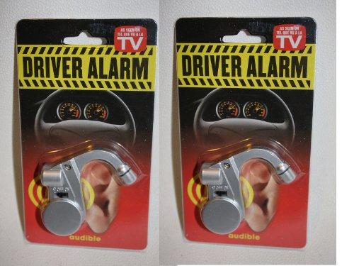 Pack of 2 Wake up Anti-doze Earpiece Nap Zapper Alarm Ingegrating LED Flashllight Function