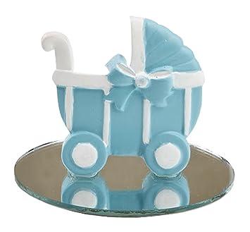 Amazon.com: carriola de bebé azul/cochecito diseño Favor con ...