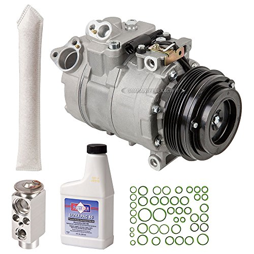 Bmw Clutch Kit (New AC Compressor & Clutch With Complete A/C Repair Kit For BMW X5 3.0L - BuyAutoParts 60-80488RK New)
